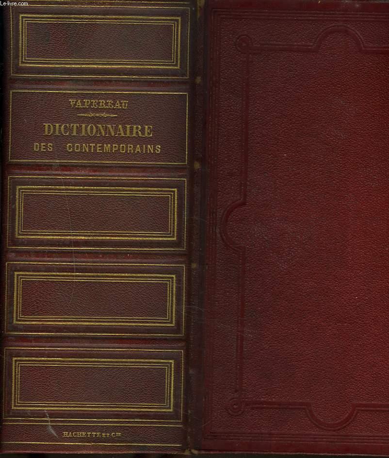 DICTIONNAIRE UNIVERSEL DES CONTEMPORAINS contenant toutes les personnes notables de la France et des pays étrangers. 4e EDITION.