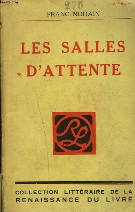 LES SALLES D'ATTENTE