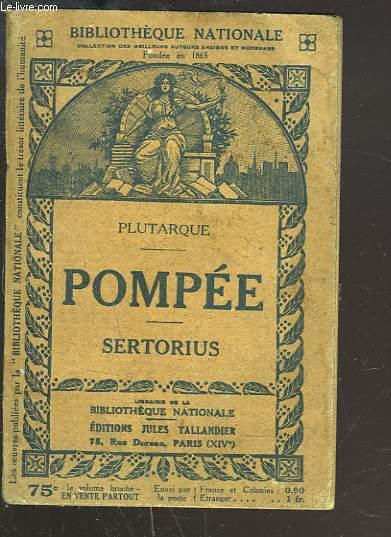 POMPEE. SERTORIUS.