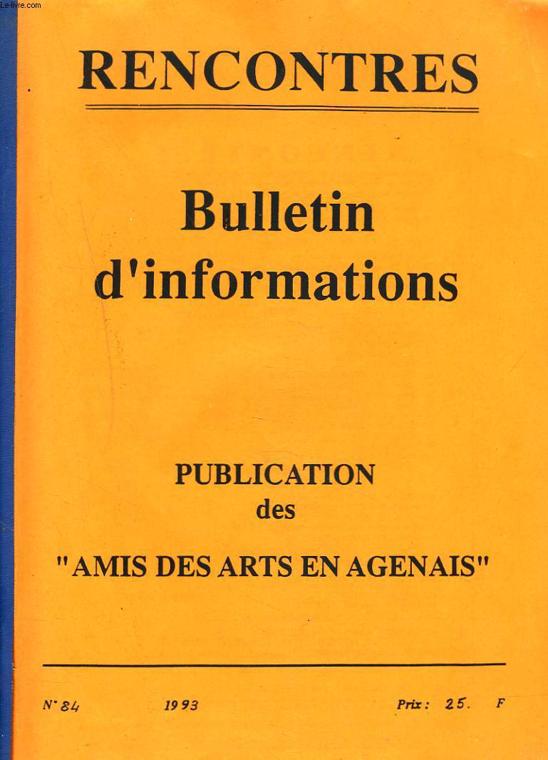 rencontre bulletin