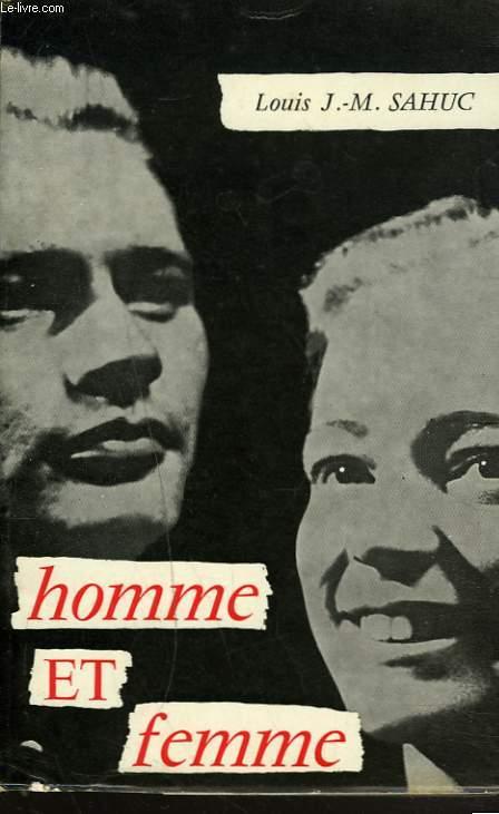 HOMME ET FEMME + ENVOI DE L'AUTEUR.