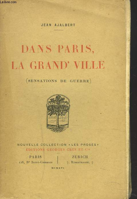 DANSPARIS, LA GRAND' VILLE