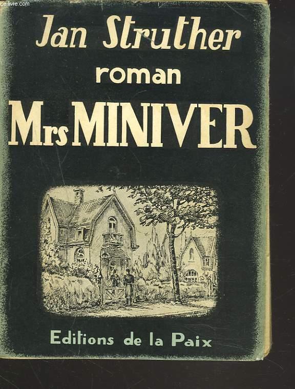 Mrs MINIVER. ROMAN.