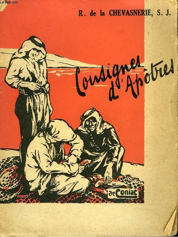 CONSIGNES D'APOTRES.