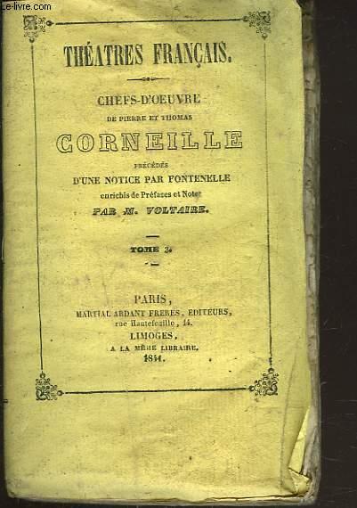CHEFS-D'OEUVRE. TOME 3. RODOGUNE / HERACLIUS / DON SANCHE D'ARAGON.