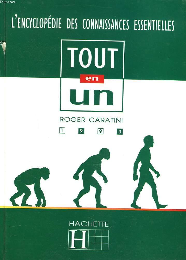 L'ENCYCLOPEDIE DES CONNAISSANCES ESSENTIELLES. TOUT EN UN. 1993.