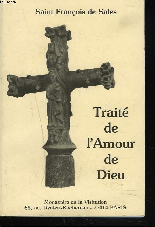 TRAITE DE L'AMOUR DE DIEU