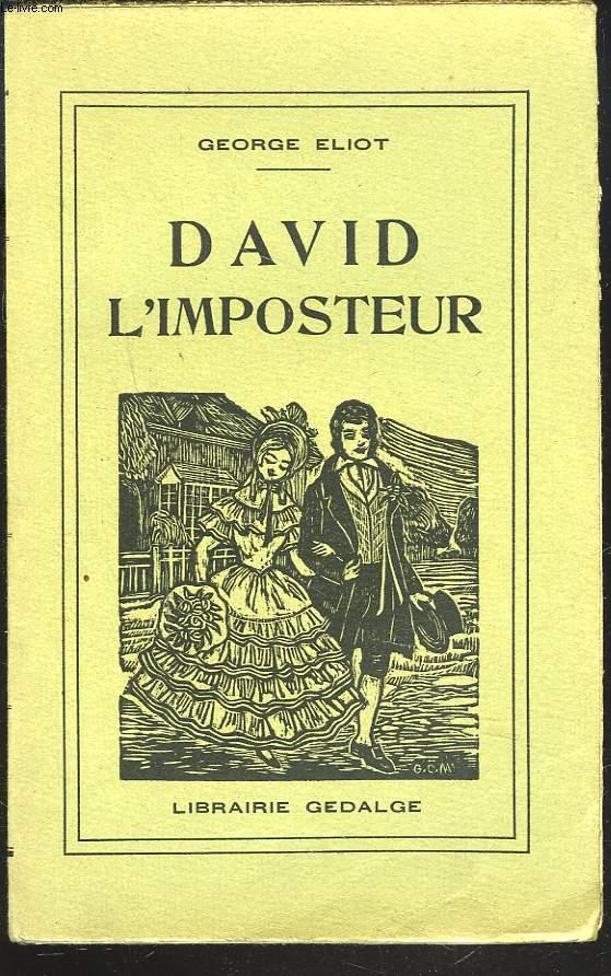 DAVID L'IMPOSTEUR
