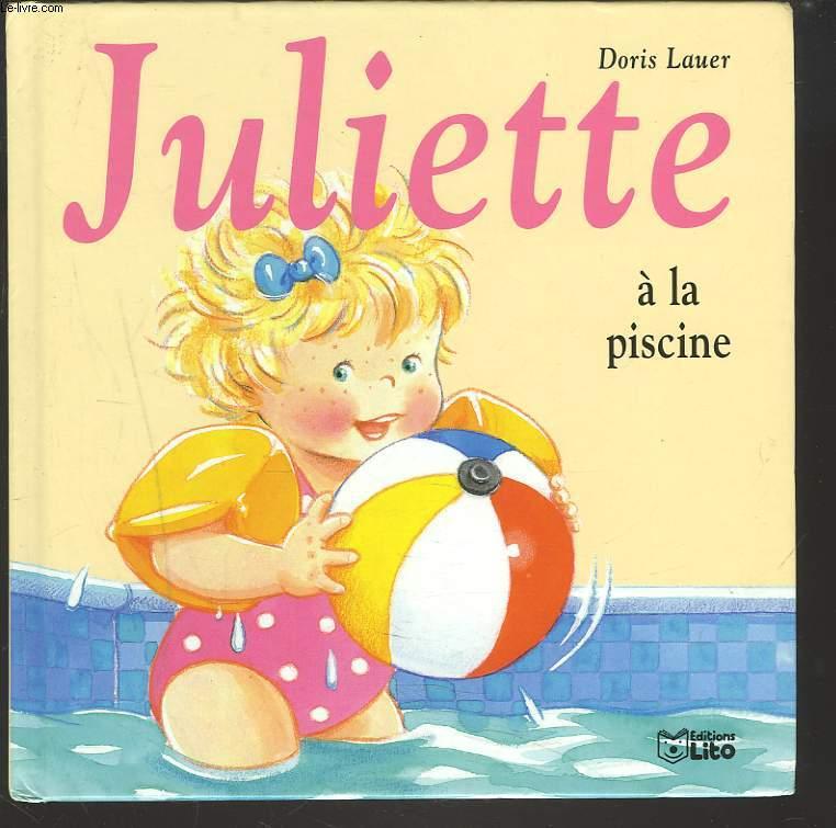 JULIETTE  A LA PISCINE