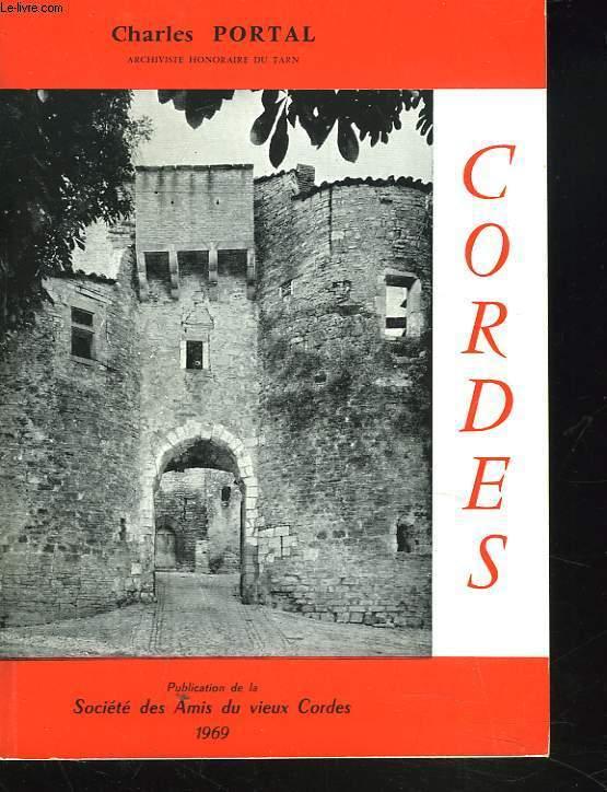 CORDES. Notice artistique et archéologique.