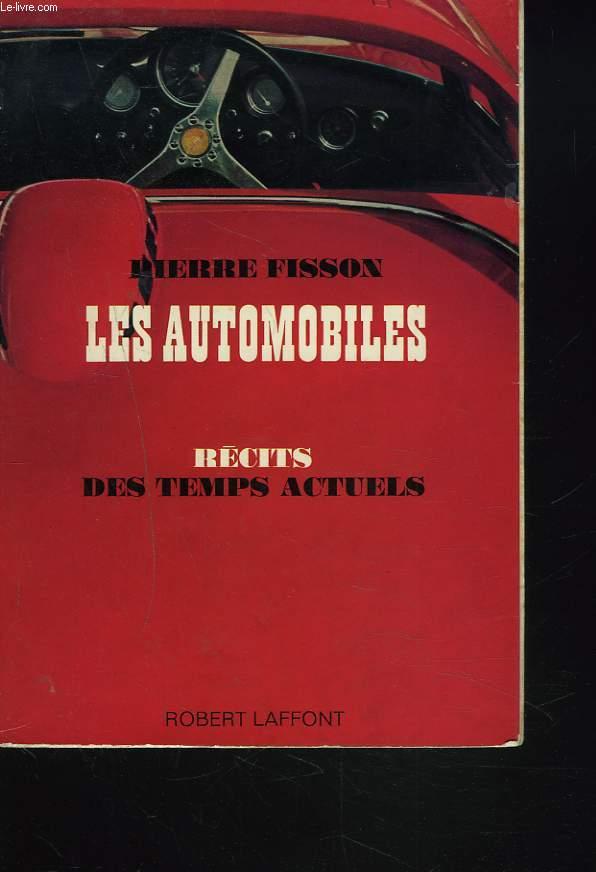 LES AUTOMOBILES. RECITS DES TEMPS ACTUELS.