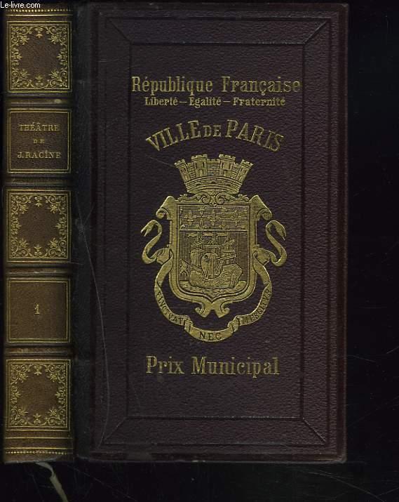 THEATRE. PUBLIE PAR D. JOUAUST. TOME PREMIER.