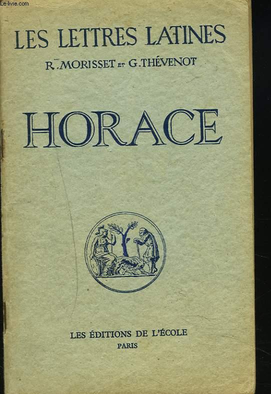 LES LETTRES LATINES (CHAPITRE XV). HORACE.