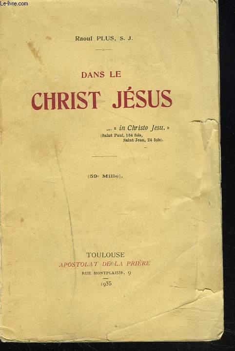 DANS LE CHRIST JESUS