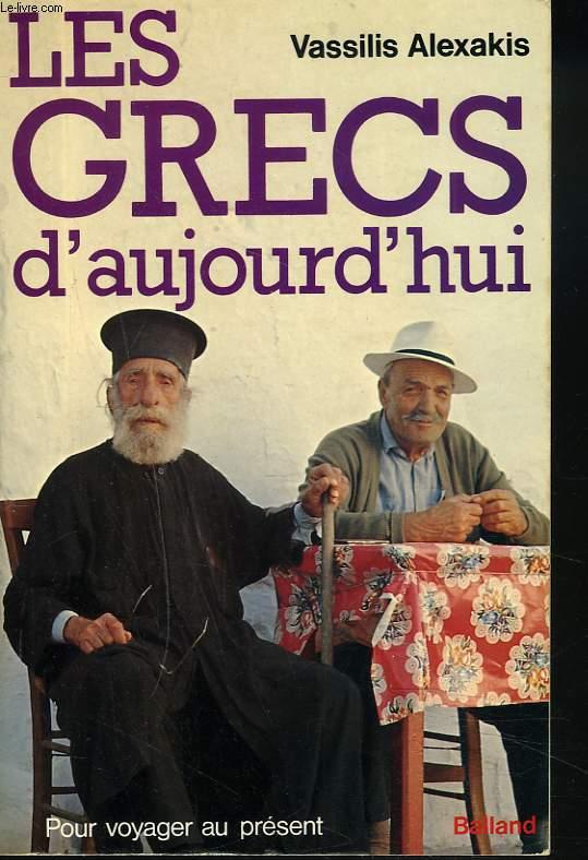 LES GRECS D'AUJOURD'HUI