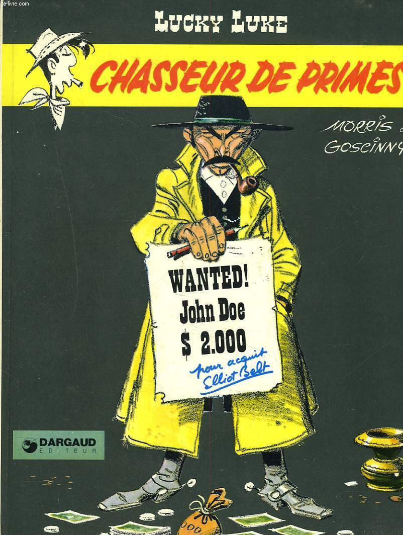 LUCKY LUKE. CHASSEUR DE PRIMES.