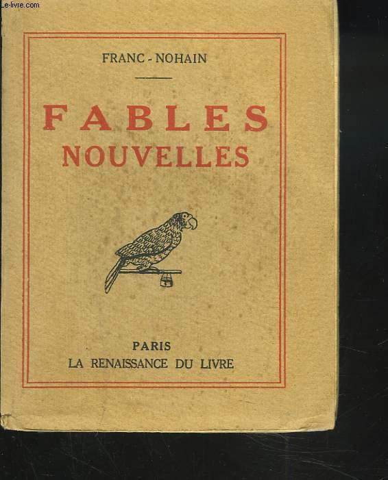 FABLES NOUVELES