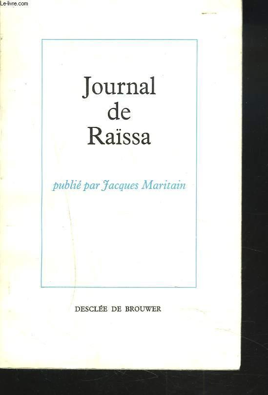 JOURNAL DE RAÏSSA