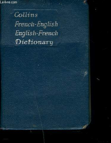 COLLINS FRENCH GEM DICTIONARY. ENGLISH-FRENCH / FRENCH-ENGLISH