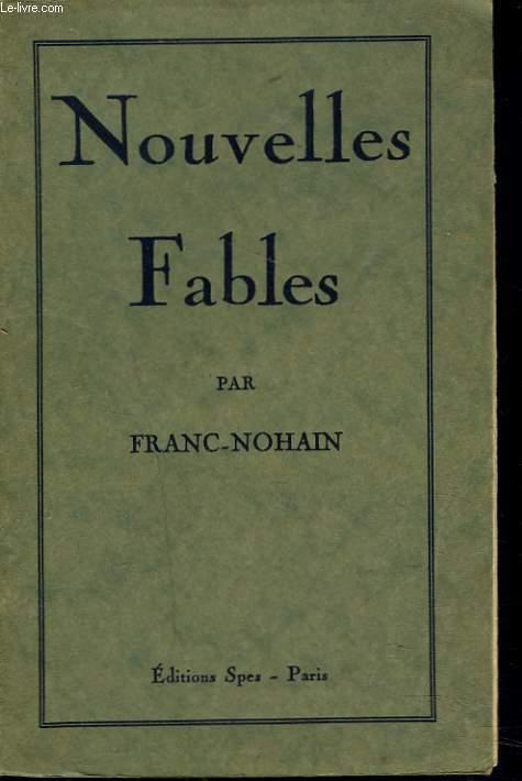 NOUVELLES FABLES