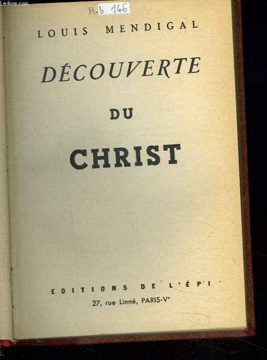 DECOUVERTE DU CHRIST