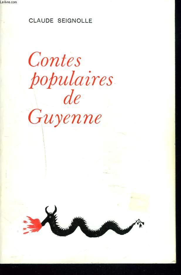CONTES POPULAIRES DE GUYENNE