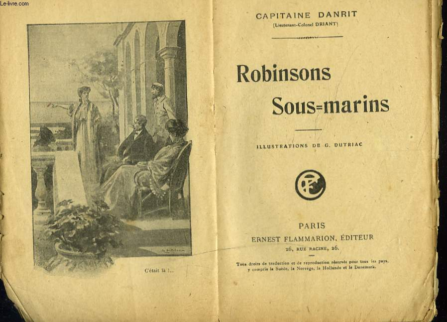 ROBINSONS SOUS-MARINS
