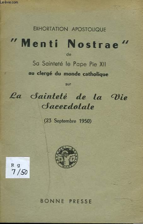 EXORTATION APOSTOLIQUE