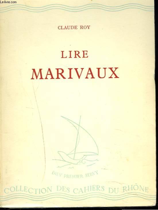 LIRE MARIVAUX