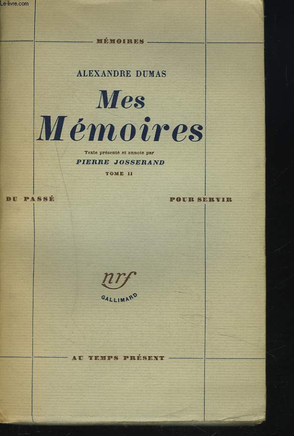 MES MEMOIRES. TOME II.
