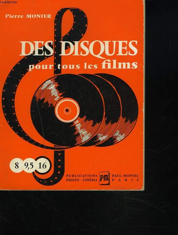 DES DISQUES POUR TOUS LES FILMS