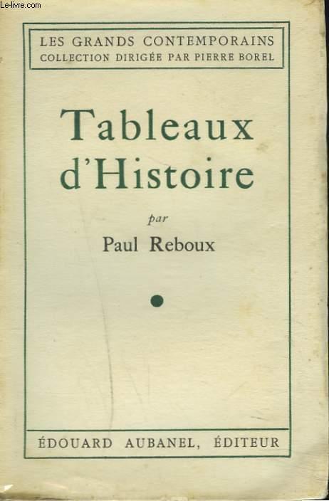 TABLEAUX D'HISTOIRE