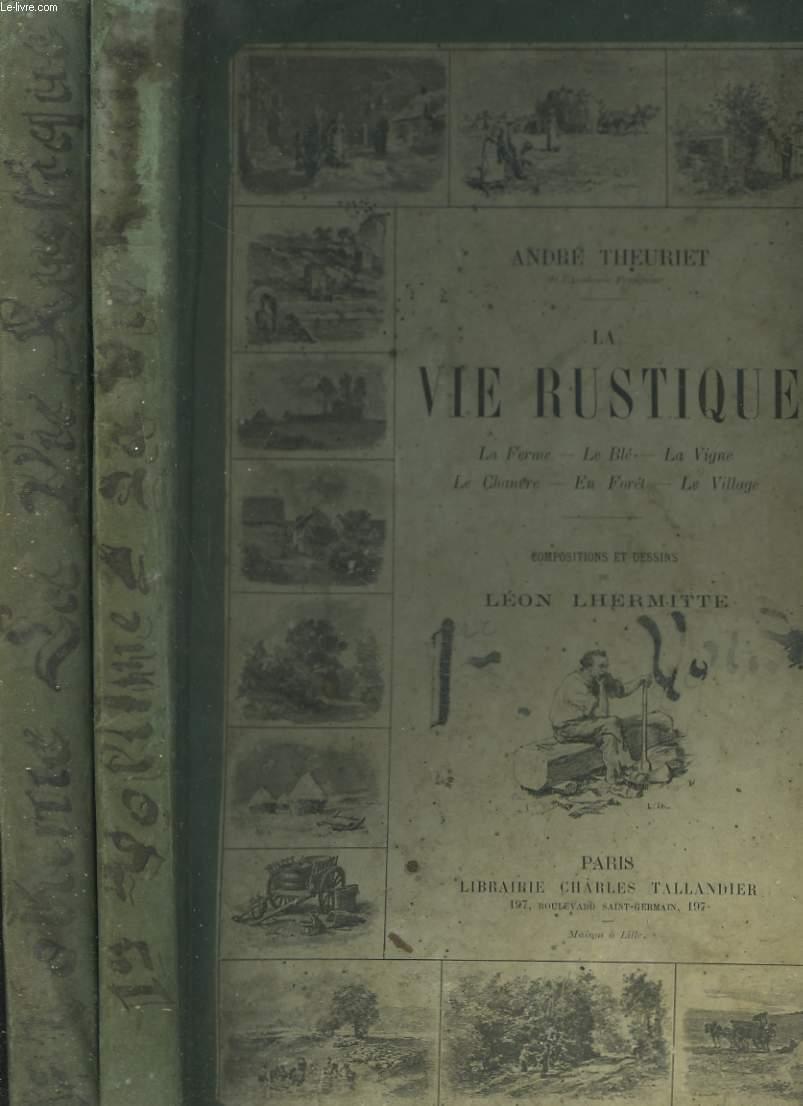 LA VIE RUSTIQUE EN 2 VOLUMES.