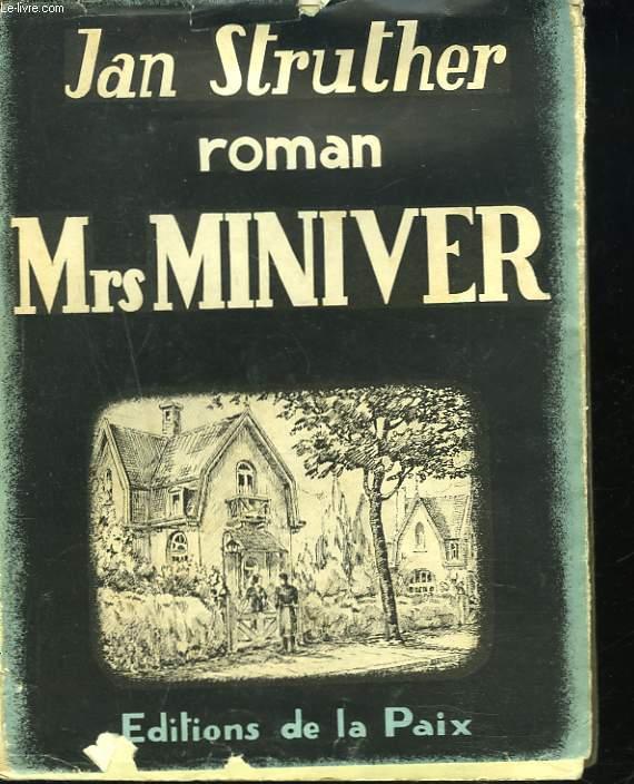 Mrs MINIVER