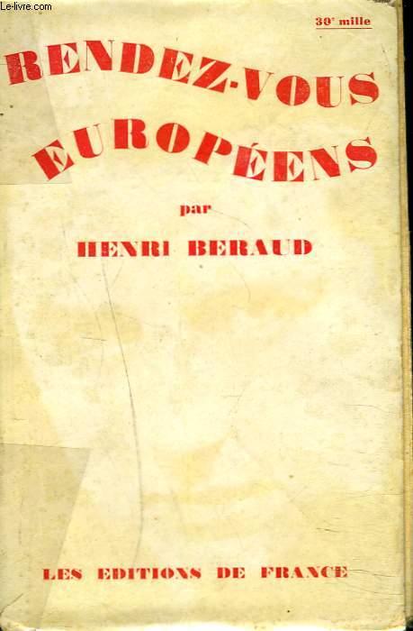 RENDEZ-VOUS EUROPEENS