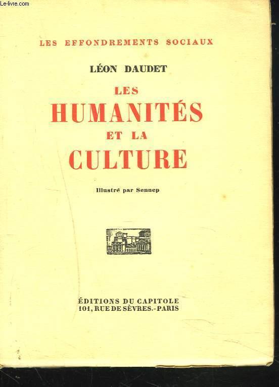 LES HUMANITES ET LA CULTURE