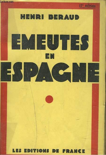 EMEUTES EN ESPAGNE