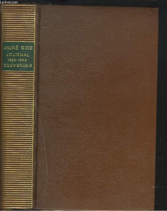 JOURNAL 1939-1949. SOUVENIRS.