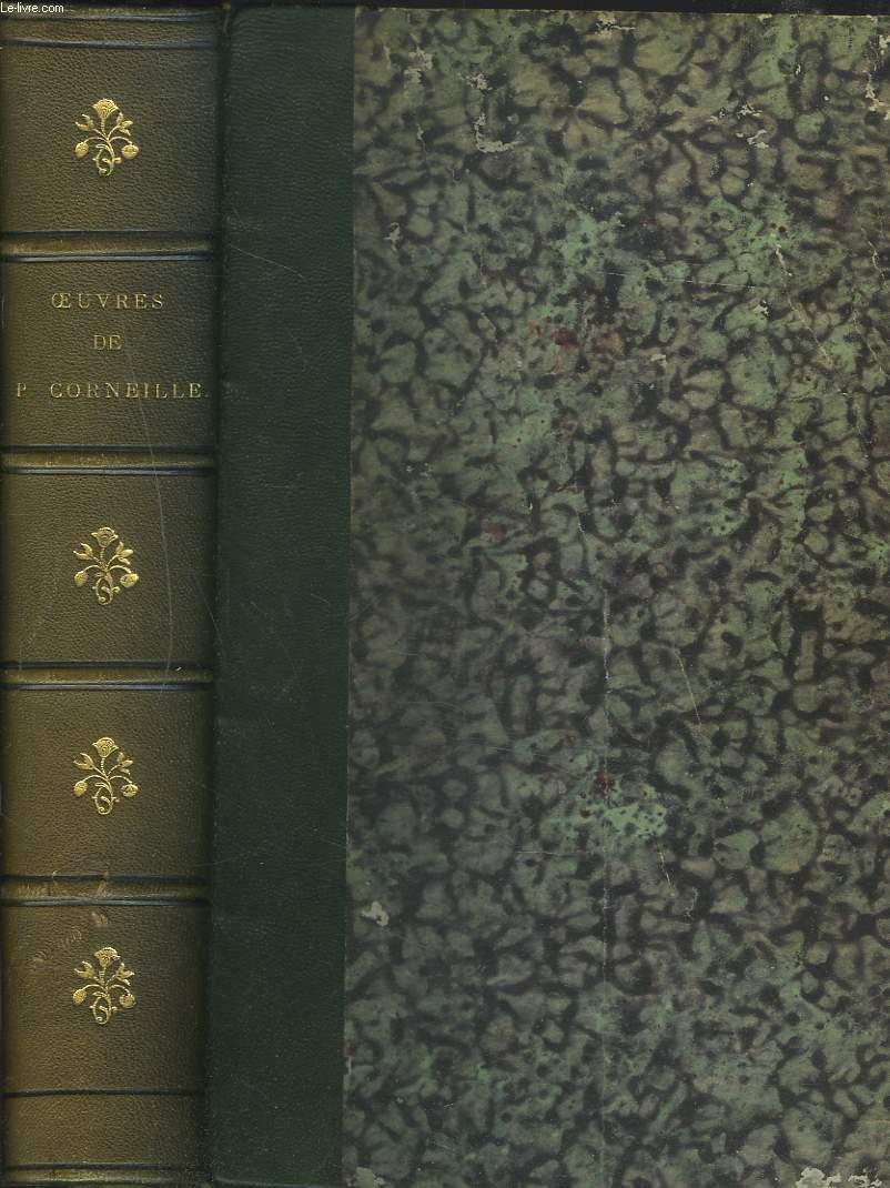 OEUVRES. THEATRE COMPLET. Précédées de la vie de l'auteur, par Fontenelle et suivies d'un dictionnaire donnant l'explication des mots qui ont vieilli.