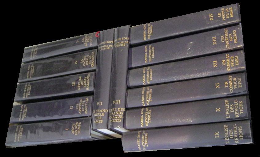 HISTOIRE DE L'EGLISE DU CHRIST EN 14 TOMES.