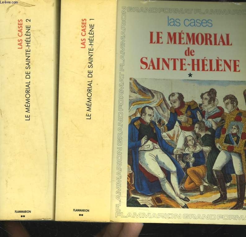 LE MEMORIAL DE SAINTE-HELENE. TOMES I ET II.