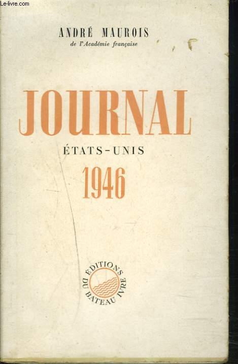 JOURNAL. ETAT-UNIS 1946.