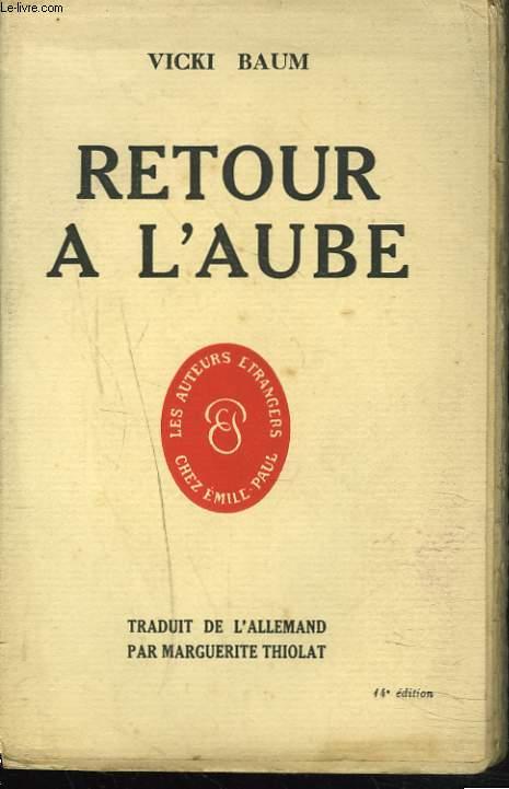 RETOUR A L'AUBE