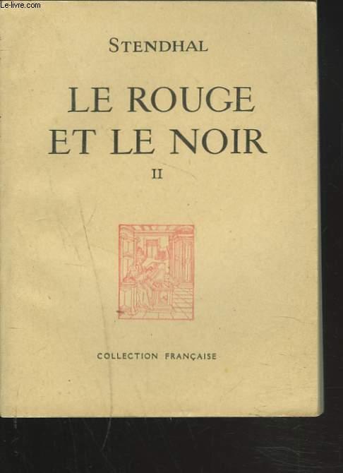 LE ROUGE ET LE NOIR. II.