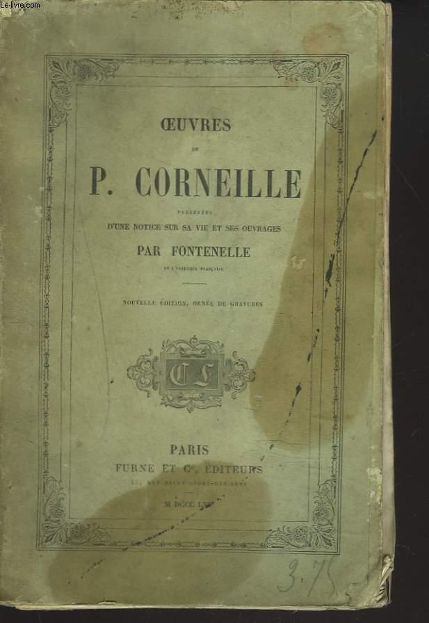 OEUVRES récédées d'une notice sur sa vie et ses ouvrages par Fontenelle.