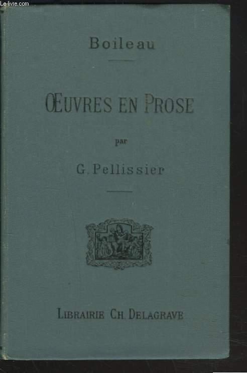 OEUVRES EN PROSE par G. PELLISSIER