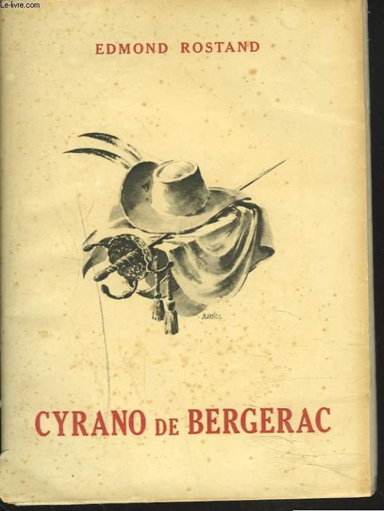 CYRANO DE BERGERAC. COMEDIE HEROÏQUE EN CINQ ACTES EN VERS.