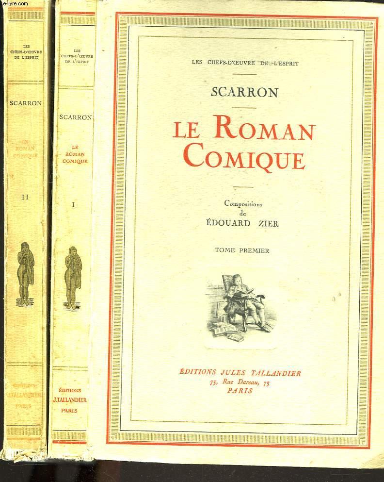 LE ROMAN COMIQUE. TOMES PREMIER ET SECOND.