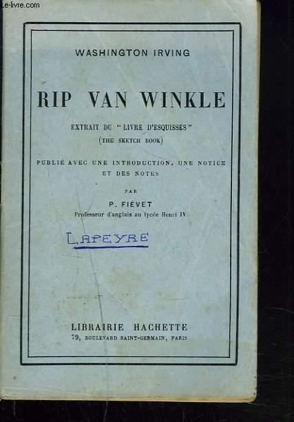 RIP VAN WINKLE. EXTRAIT DU