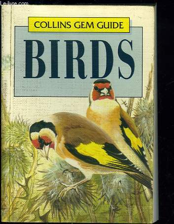 COLLINS GEM GUIDE. BIRDS.